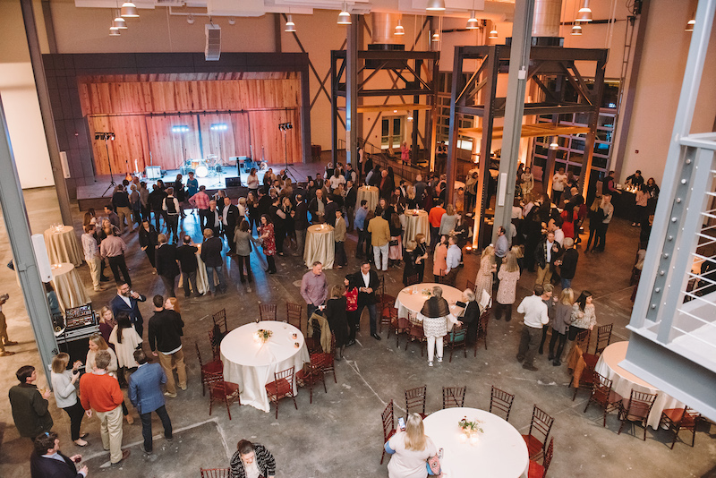 New, modern event venue, Central Energy, celebrates grand