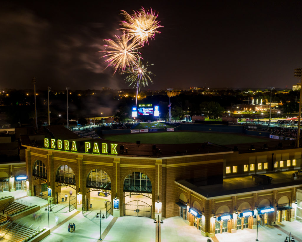 Segra Park named Class A Ballpark of the Decade