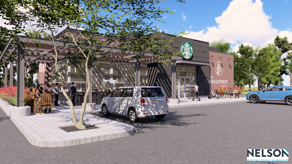 BullStreet Starbucks rendering